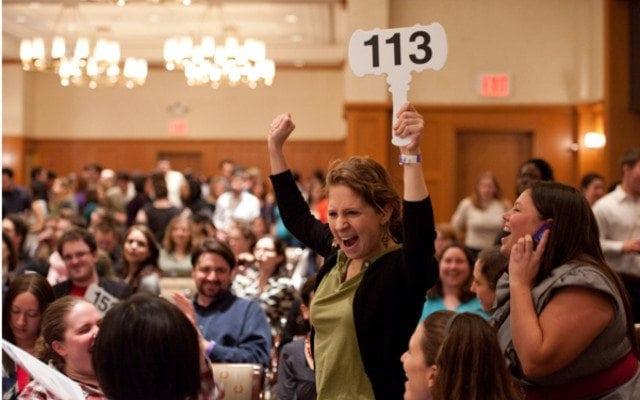 auction excitement