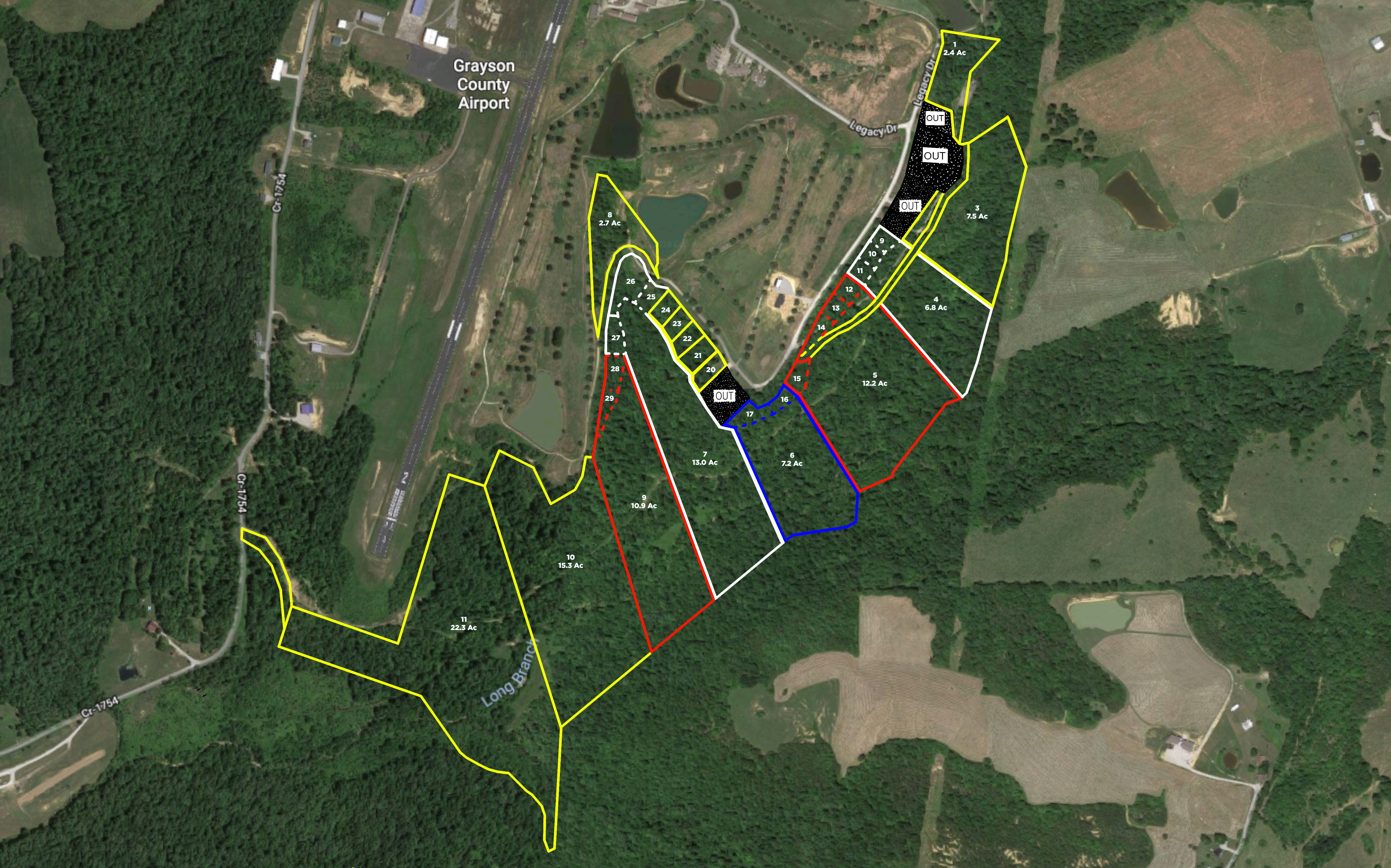 Absolute Auction | 102± Acres off Golf Course Rd. | Saturday, April 20th | 10:00 am CST